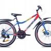 Велосипед ст Premier Dragon24 Disc 13' синий с красным