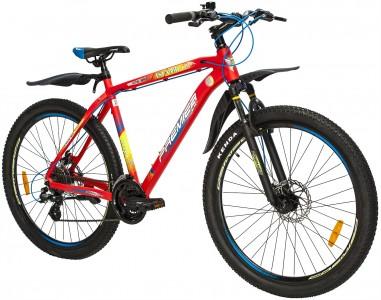 Велосипед алюминий Premier Tsunami 27 Disc 20' Neon Red