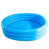 Бассейн 58446 (6шт) детский, круглый, 3 кольца, 168-41см