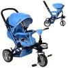 Велосипед M AL3645-12 (1шт)три кол.EVA (12/10),колясочн,алюм,поворот,съем.кол.360,синий