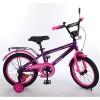 Велосипед детский PROF1 14д. T1477 (1шт) Forward,фиолетов.-розов.,звонок,доп.колеса