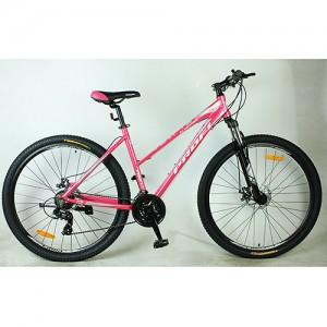 Велосипед 27,5д. G275ELEGANCE A275.1 (1шт)алюм.рама 18,5',Shimano 21SP,кассета,алюм.DB,двойн.об.,роз