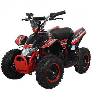Квадроцикл HB-EATV 800K-3 (1шт) мотор 800W,3аккум 12A/12V,скорость30км/ч,допуст.вес100кг,красн