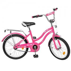 Велосипед детский PROF1 20д. L2092 (1шт) Star, малиновый,звонок,подножка