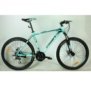 Велосипед 26д. G26GENTLE A26.1 (1шт)алюм.рама 19',SHIMANO ALTUS 21SP,кассета,алюм.DB,двойн.обод,мята