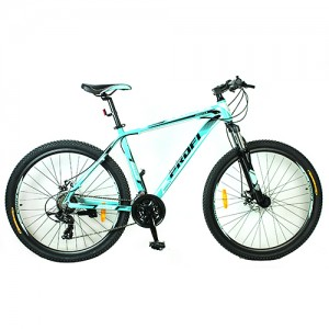 Велосипед 27,5д. G275PRECISE A275.1  (1шт)алюм.рама 19',Shimano 21SP,кассета,алюм.DB,двойн.обод,мята