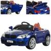 Машина M 2773 EBLR-4 (1шт) 2,4G,2мотора25W,2аккум6V/7A,колесаEVA,откр.дв,кож.сид,синяя