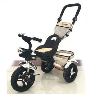 Велосипед M 3201-2A (1шт)три кол.рез (12/10)перед.корзина,сумка,звоночек,золотой