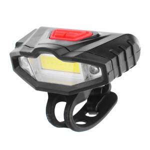 Ліхтар на руль для велосипеда  901-COB + 2LED(красные),  акумулятор Li-ion, USB