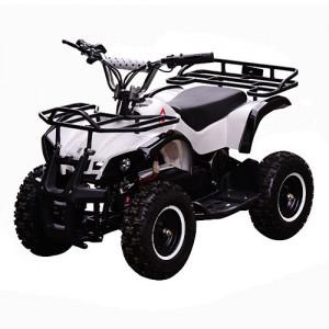 Квадроцикл HB-EATV 800N-1 (1шт) мотор 800W,3аккум 12A/12V,скорость30км/ч,допуст.вес100кг,белый